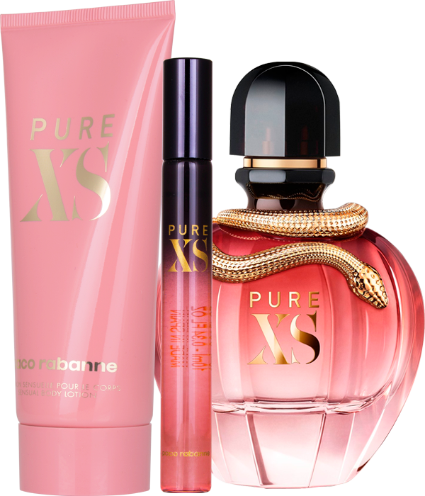 Set Pure XS 80ml + Body Lotion 100ml + 10ml