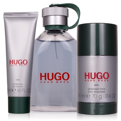 Set Hugo 125ml + Shower Gel 50ml + Deodorant 75ml