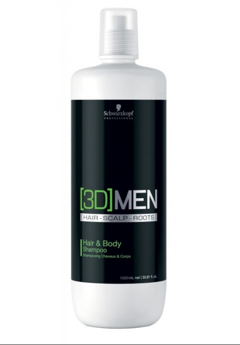 3D Men Anti-Dandruff Shampoo (Anti-Caspa)