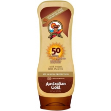 Lotion Sunscreen With Instant Bronzer SPF50