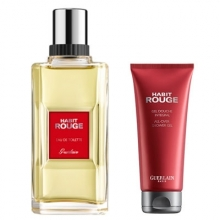 Set Habit Rouge 100ml + Shower Gel 75ml