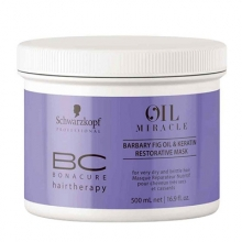 BC Bonacure Barbary Fig Oil & Keratin Restorative Mask (Cabello Seco/Apagado)