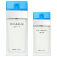 Set D&G Light Blue 100ml + 25ml