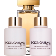 Set D&G THE ONE EDT 100ML, BODY LOTION 100ML Y SHOWER GEL 100ML