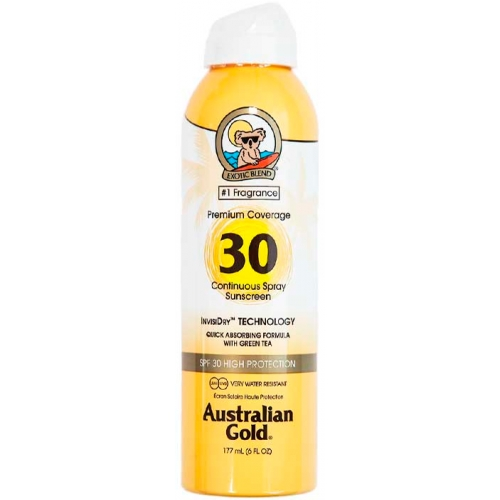 Premium Coverage Continuous Spray SPF30