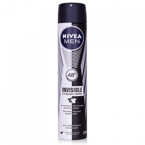 Men Invisible for Black & White Deodorant Spray