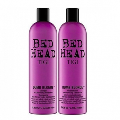 Set Bed Head Therapy For Blondes Shampoo 750ml + Reconstructor 750ml